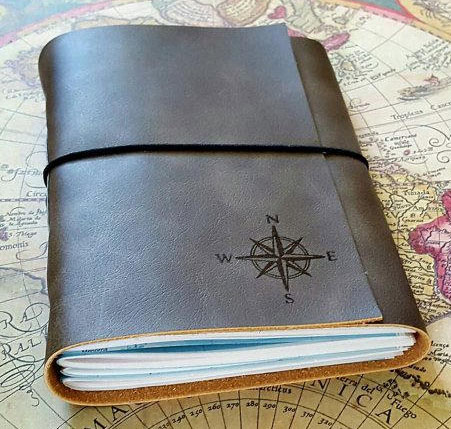 Leather Bound Journal Etsy