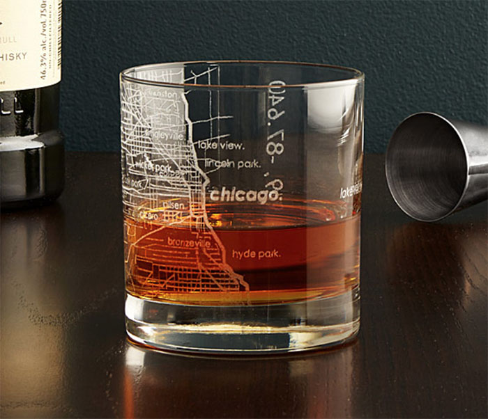 City Map Glass