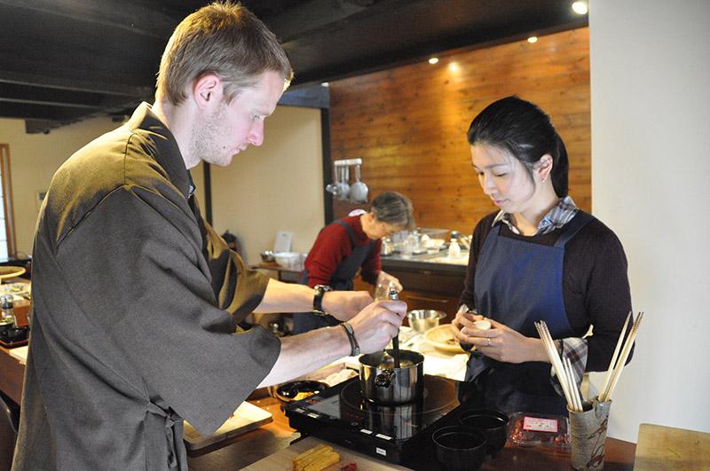 Cooking Sun School Kyoto Tokyo