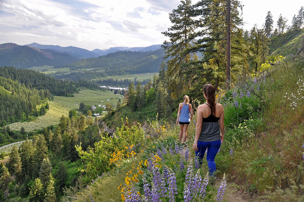 Sauer Mountain Hike Leavenworth