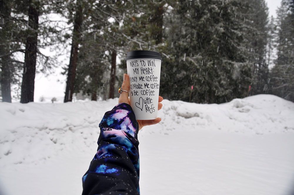 Lil Reds Coffee to go Leavenworth