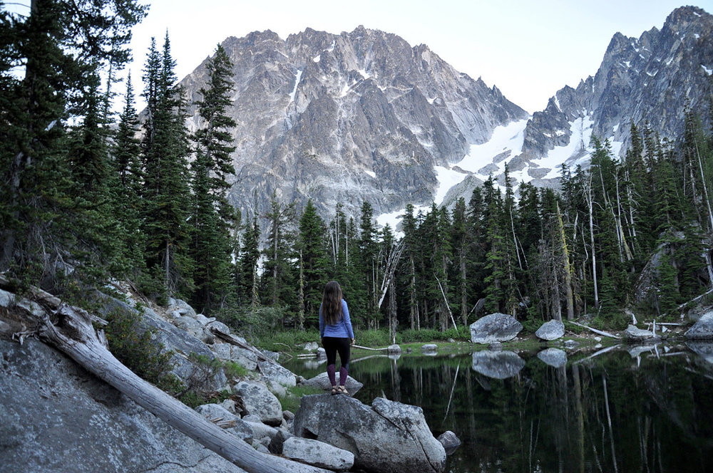 Colchuck Lake Enchantments Leavenworth