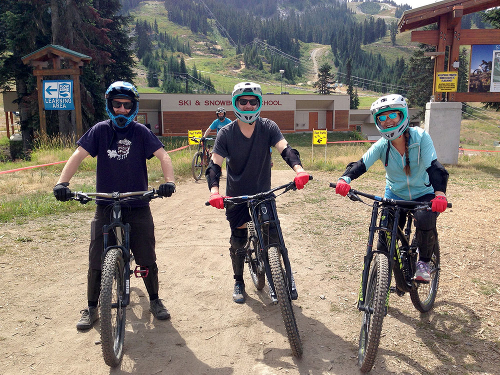 Mountain Biking Stevens Pass Washington