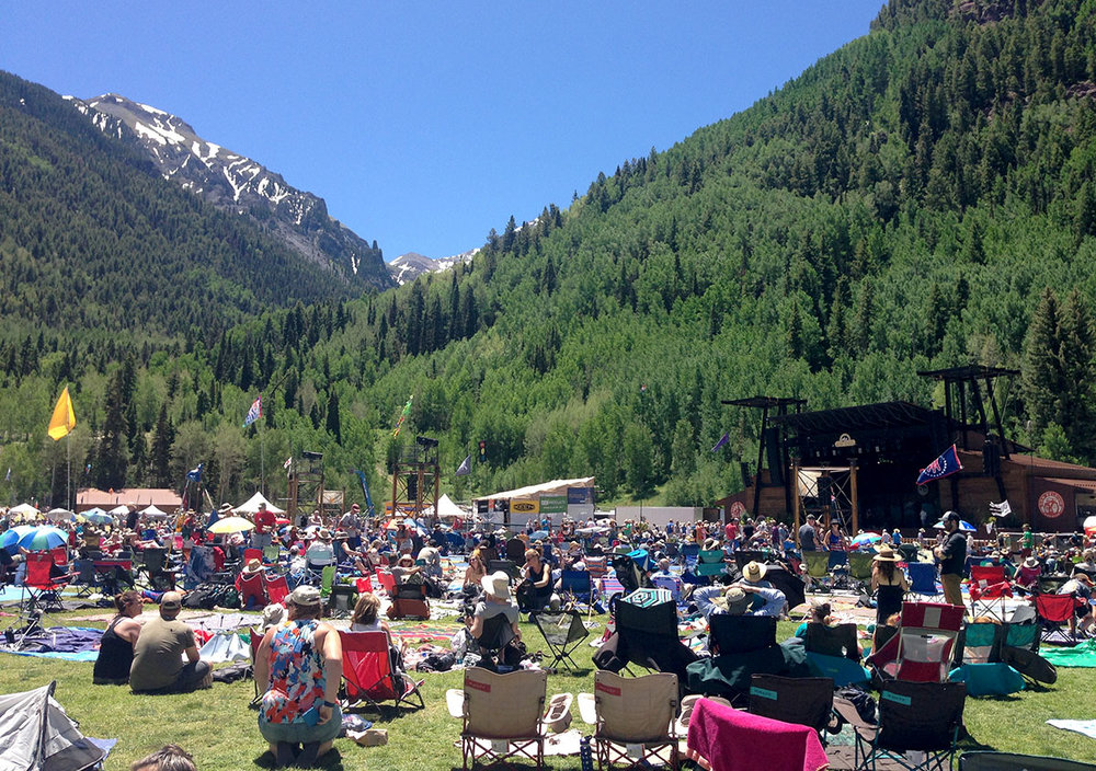 Telluride Bluegrass Music Festival Colorado
