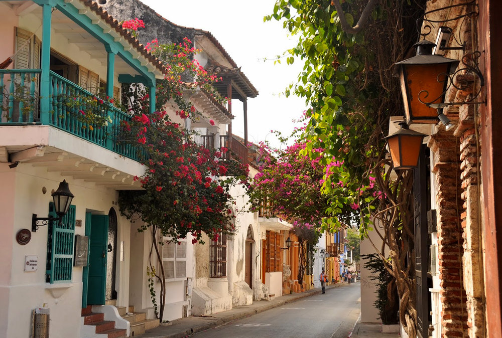 Cartagena Flower Street