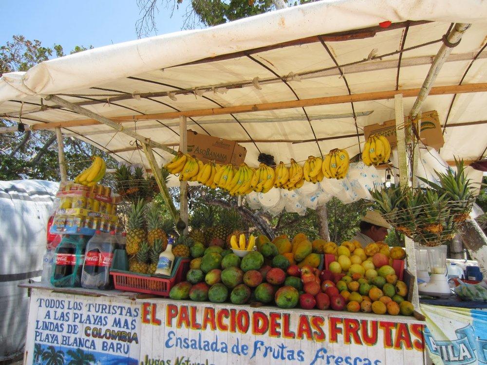 Rosario Island Fruit Juice Stand