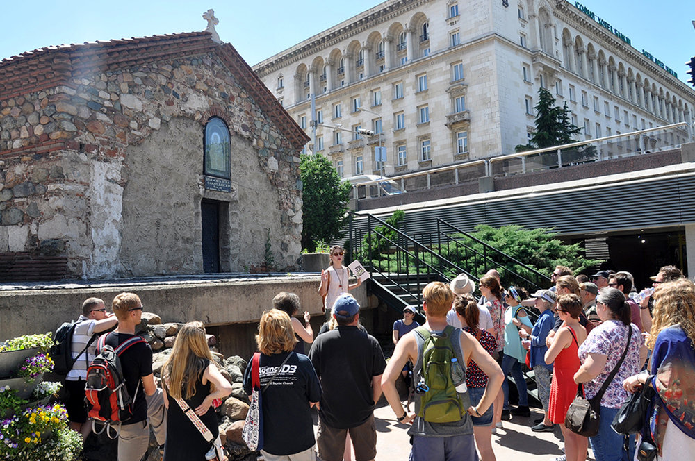 Sofia Bulgaria Free Walking Tour