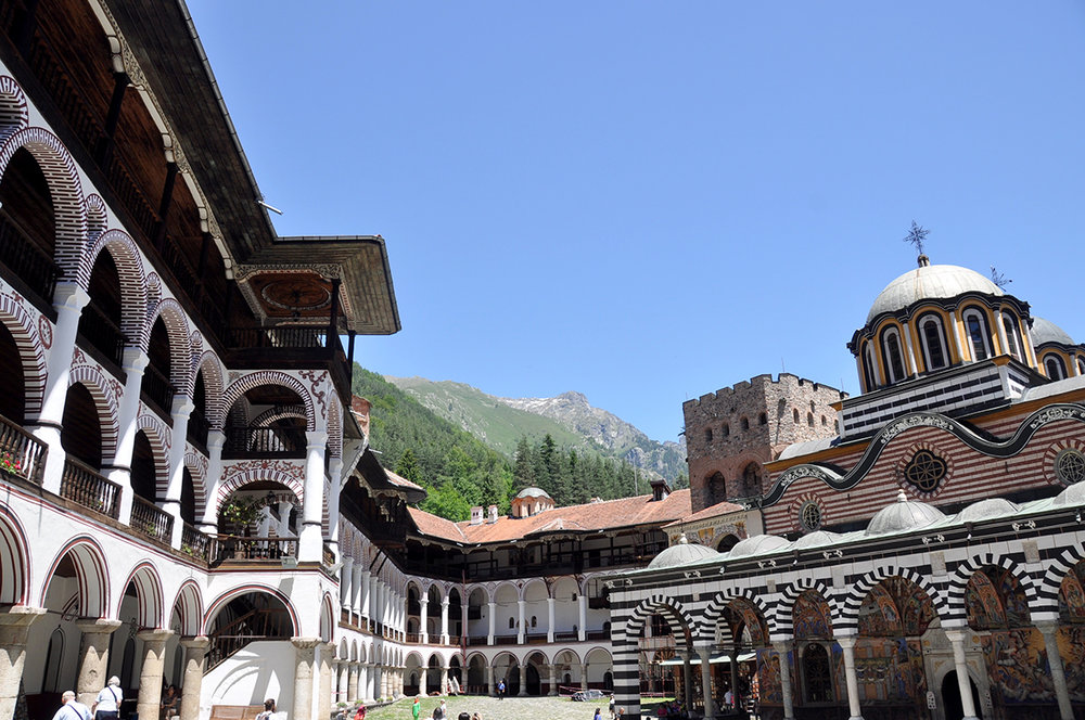 Rila Monastery Bulgaria Travel