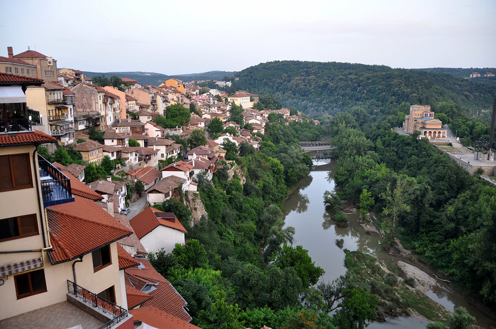 Veliko Tarnovo Bulgaria View Point