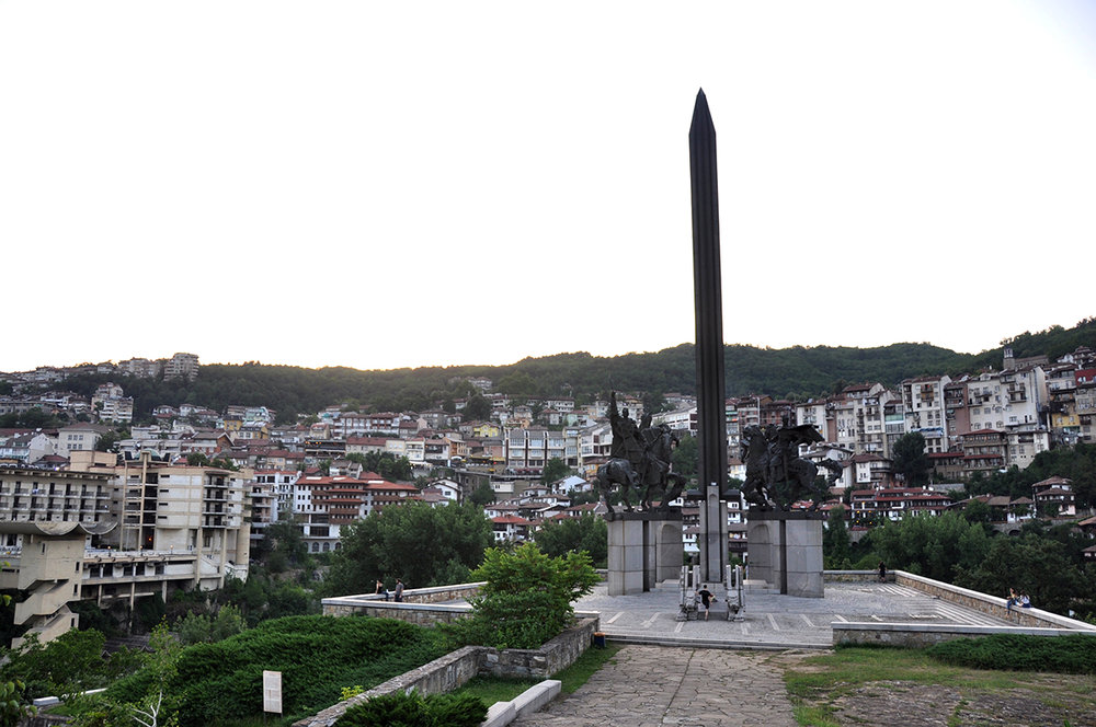 Veliko Tarnovo Bulgaria Monument of the Assens