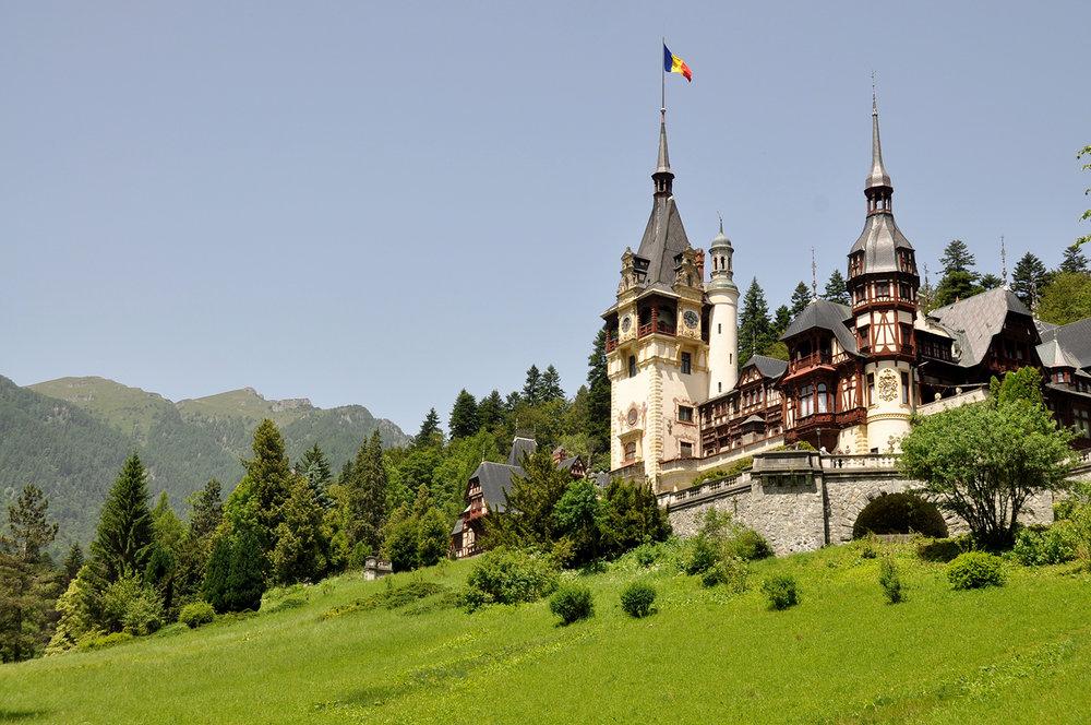Peles Castle Brasov Romania
