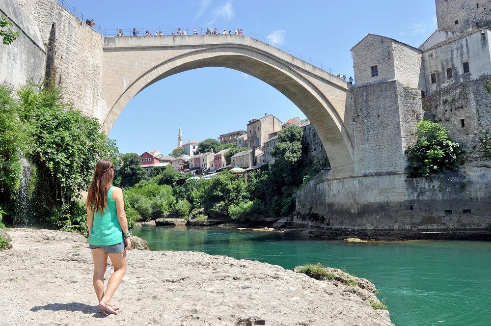 Mostar Stari Most Old Bridge Bosnia