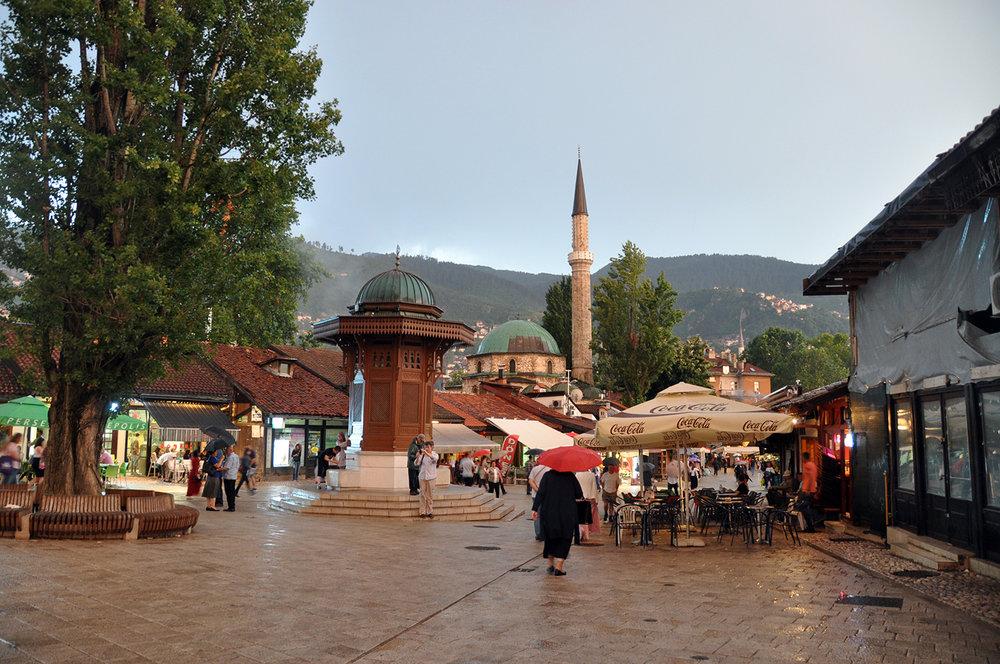 Muslim Quarter Sarajevo Bosnia Travel
