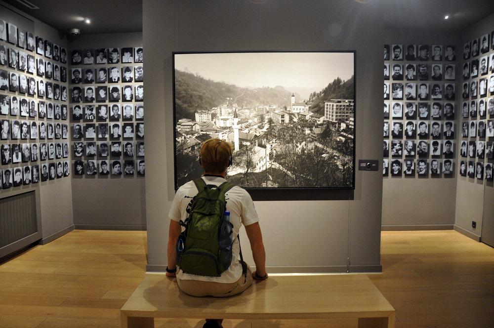Srebrenica Genocide Museum Gallery 11/07/95 Sarajevo Bosnia Travel