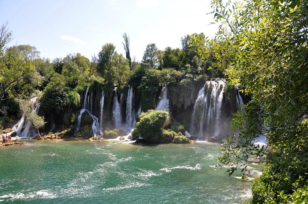 Kravice Waterfalls Mostar Bosnia Travel