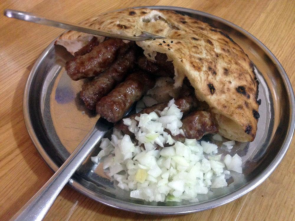 Cevapi Sausage fingers Bosnia Food Travel