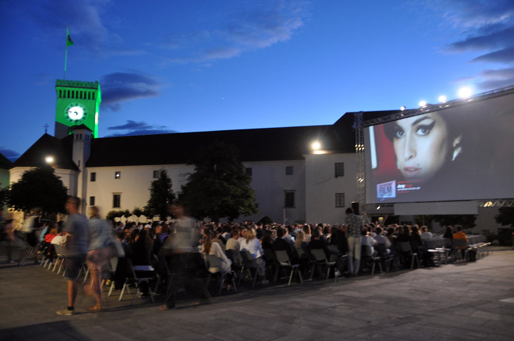 Movies under the Stars Ljubljana Castle Slovenia Travel