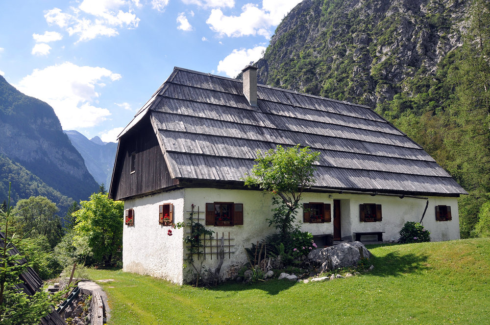 Countryhouse Mountains Bovec Slovenia Travel