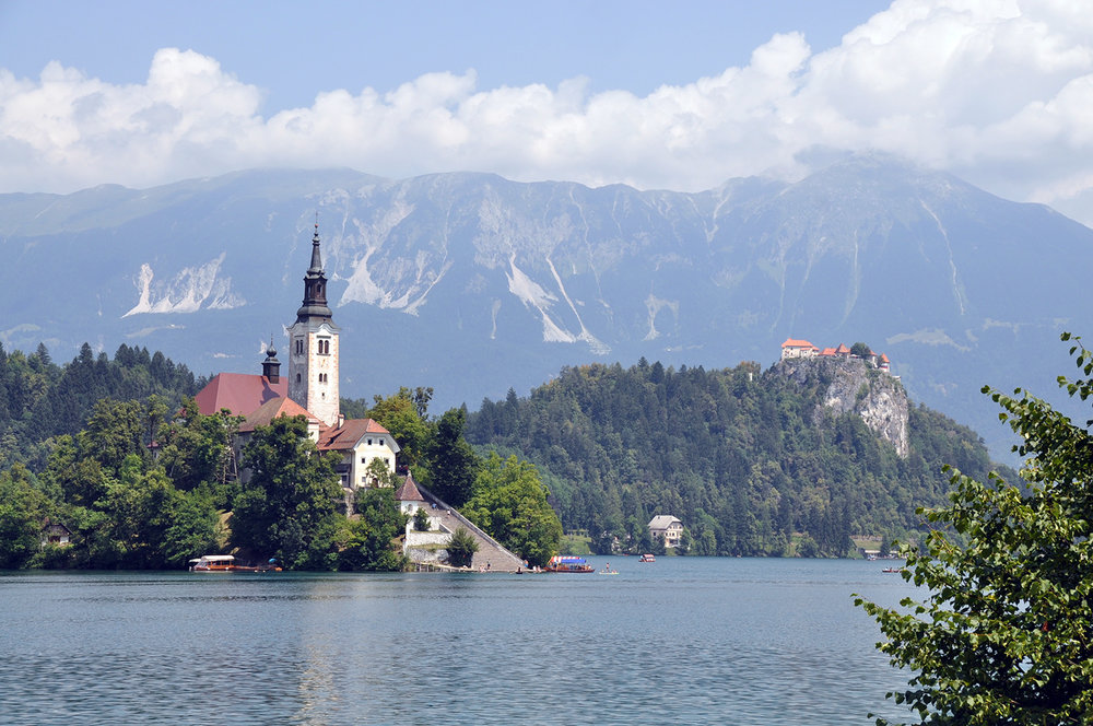 Assumption of Mary Church Bled Slovenia Travel