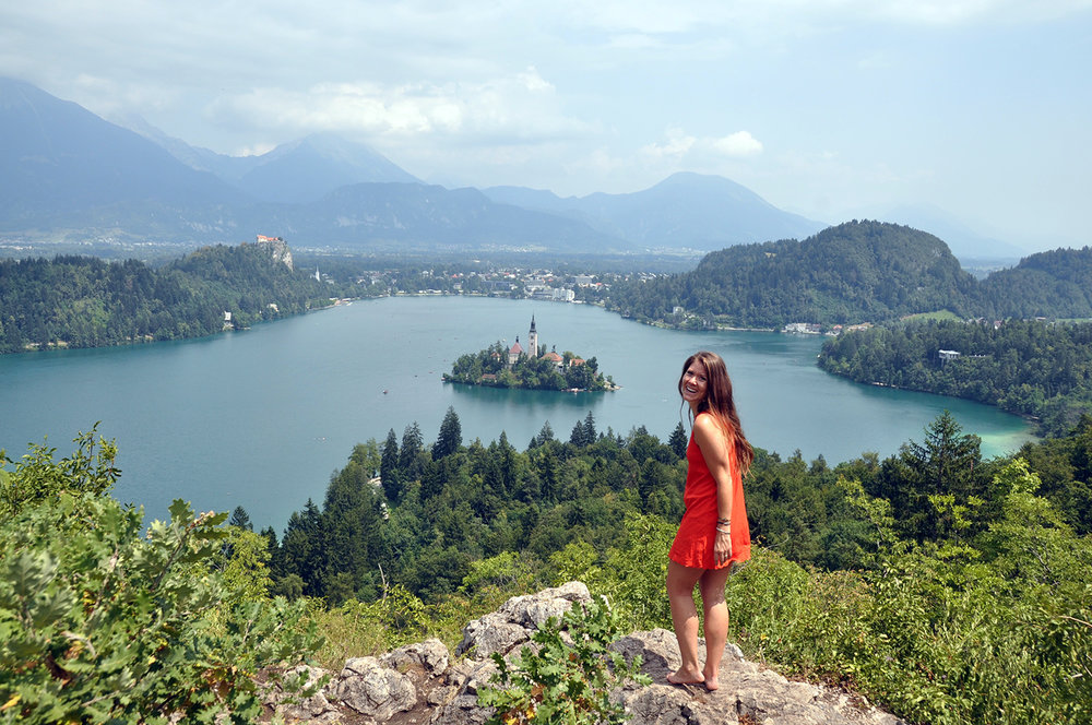 Ojstrica Viewpoint Lake Bled Slovenia Travel