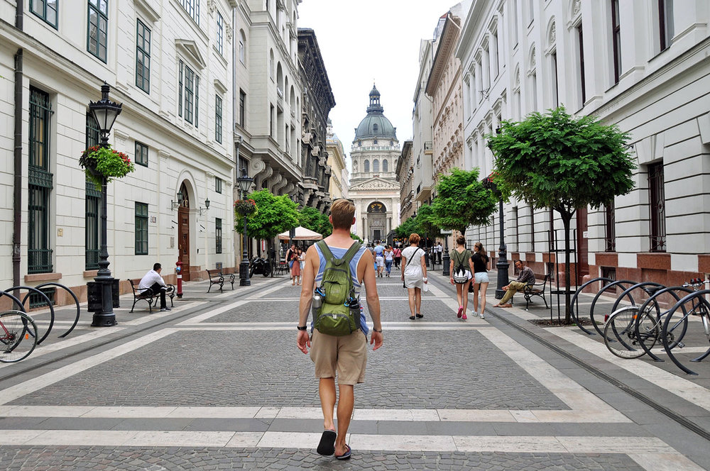 Walking Street in Budapest Cheap Travel Hacks