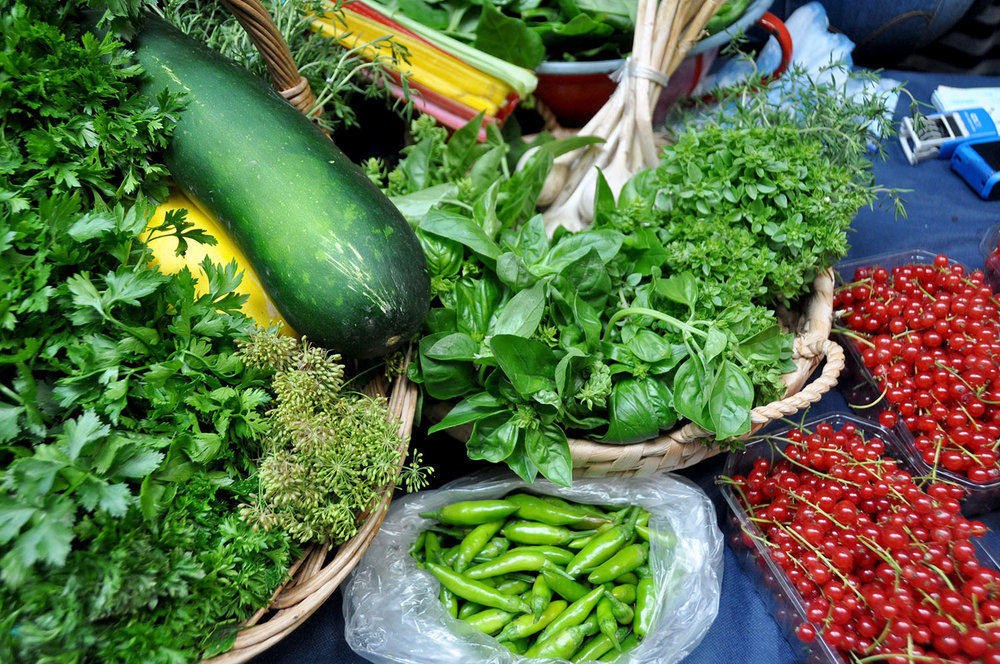 Vegetables at a Market Cheap Travel Hacks