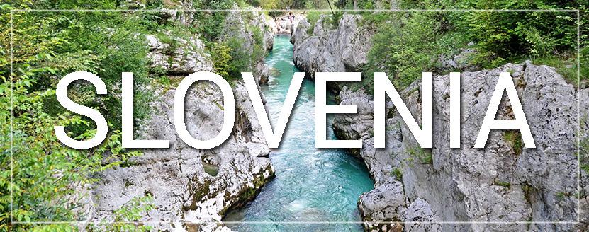 Slovenia Travel Blog Soca River Gorge