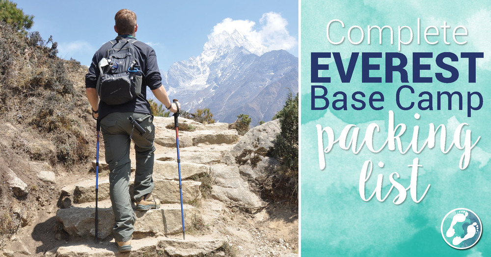 Everest Base Camp Packing List Gear