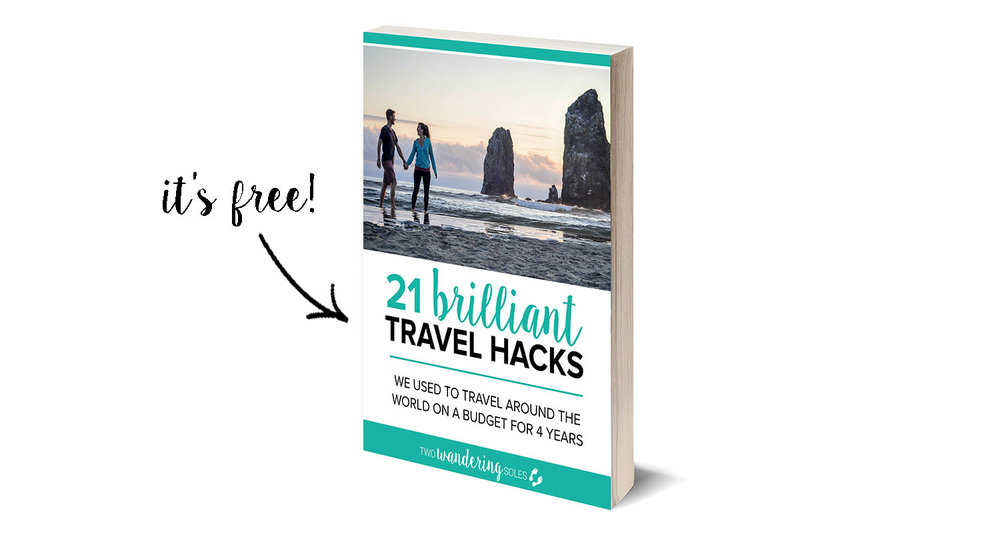 21 Brilland Travel Hacks e-Book How We Afford to Travel