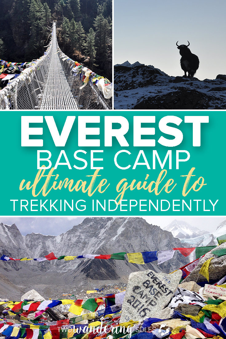 Everest Base Camp Ultimate Guide to Trekking Independently