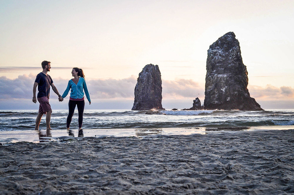 Things to Do in Oregon Cannon Beach Sea Stacks