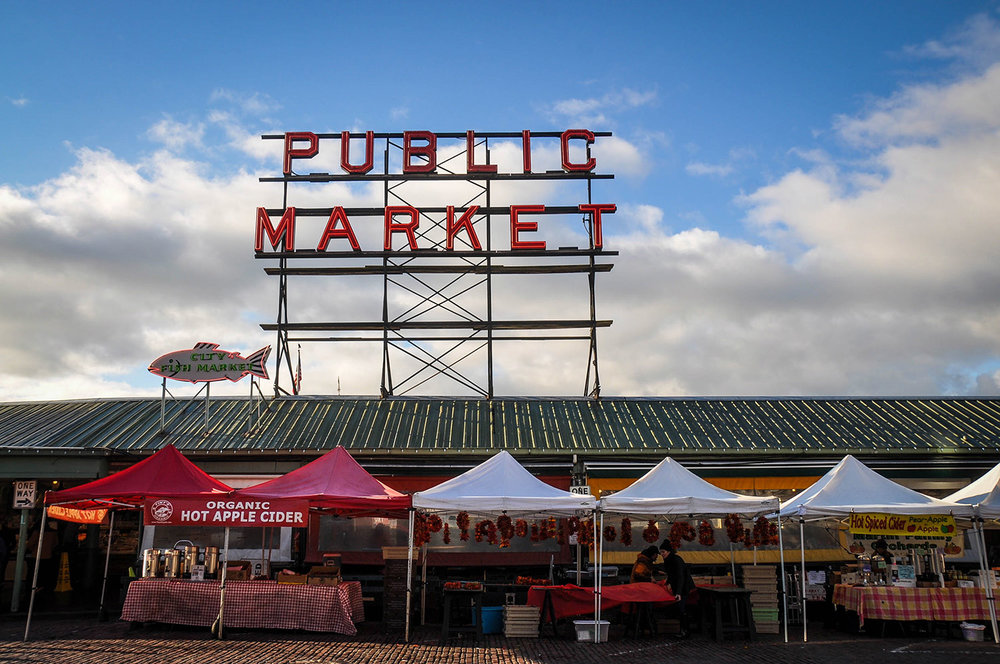 Best Things to do in Seattle Pikes Place Farmers Market