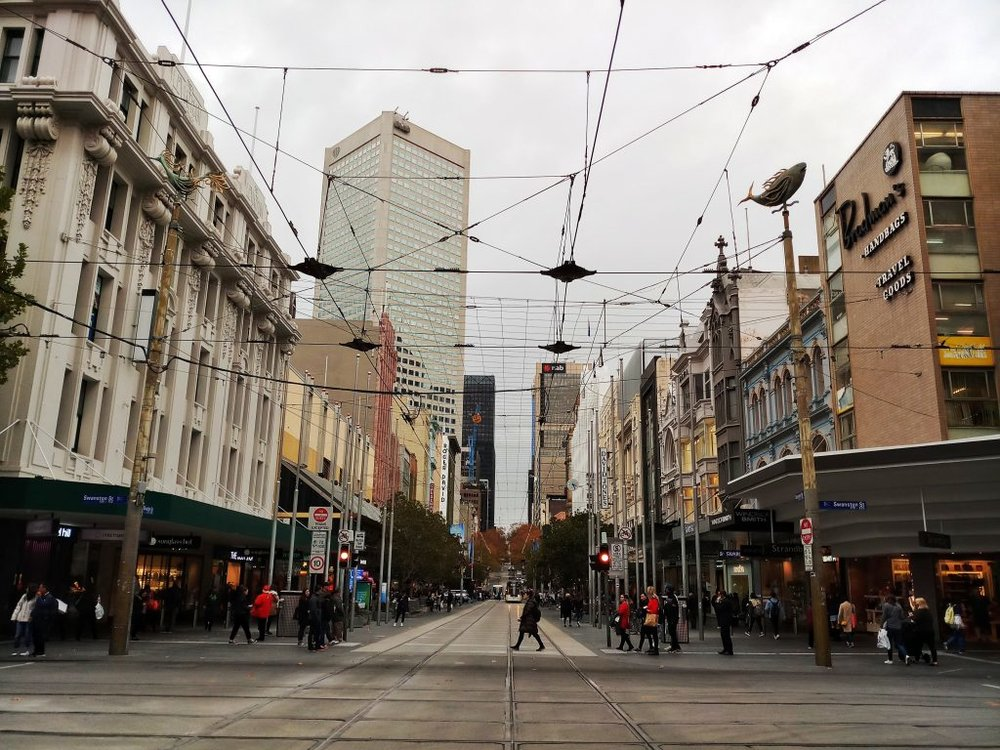 Melbourne Australia Cheap Things to Do Tram Network CBD
