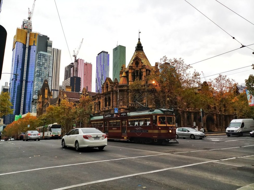 Melbourne Australia Cheap Things to Do 35 Tram CDB