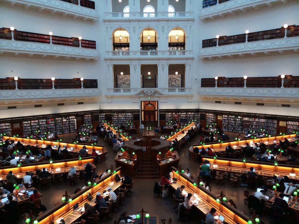 Melbourne Australia Cheap Things to Do State Library Victoria CBD