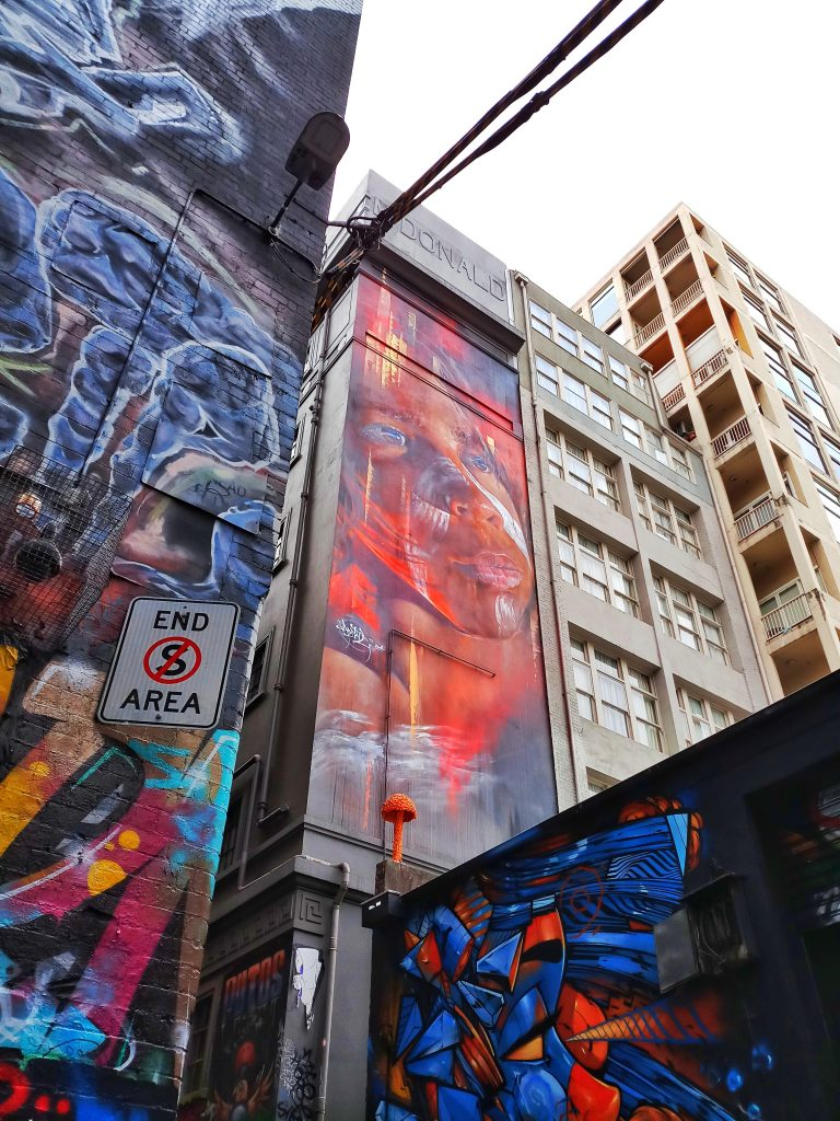 Melbourne Australia Cheap Things to Do Hosier Lane