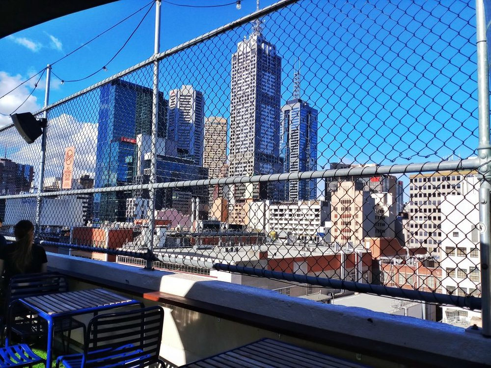 Melbourne Australia Cheap Things to Do Rooftop Bar View