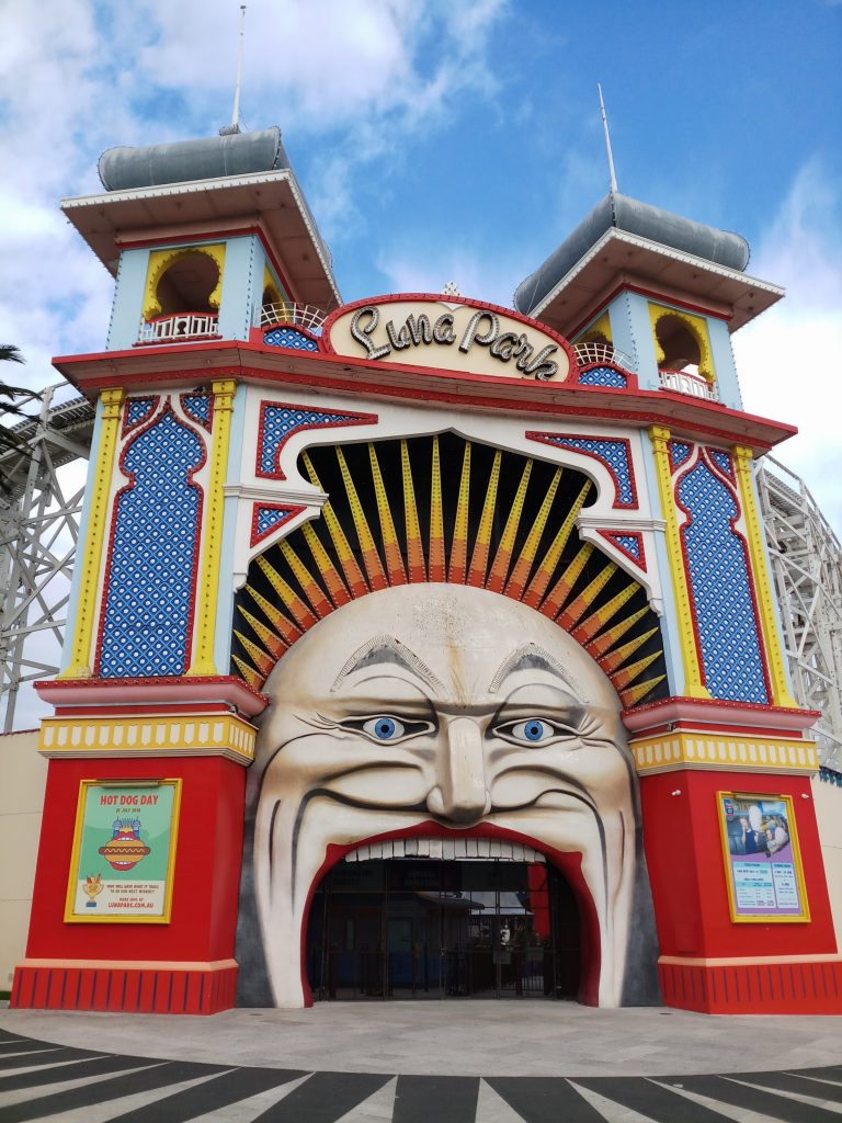 Melbourne Australia Cheap Things to Do Luna Park St Kilda