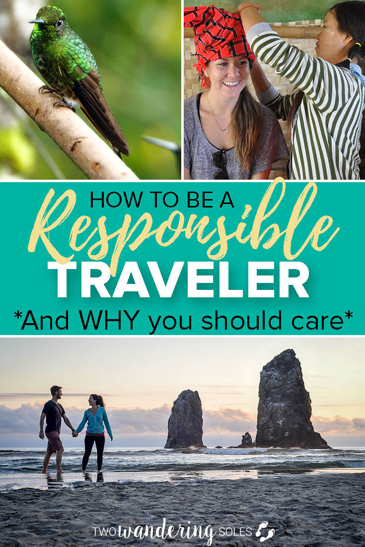 How to be a responsible traveler