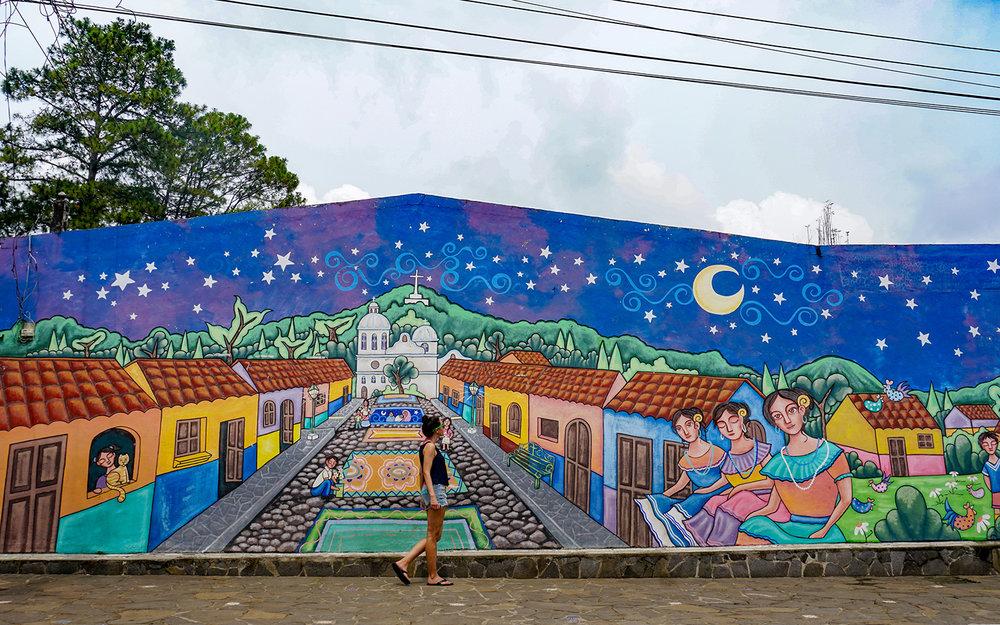 Ataco El Salvador