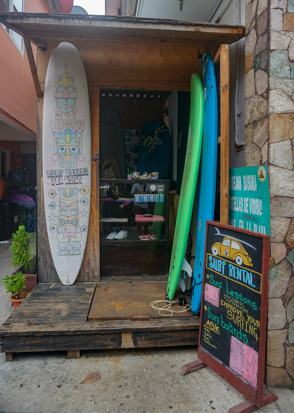 Surf Shop El Tunco El Salvador
