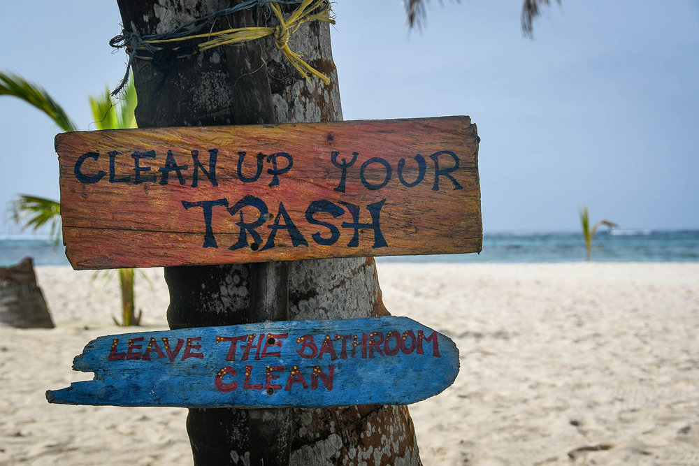 San Blas Islands Panama to Colombia Sustainability on the Islands