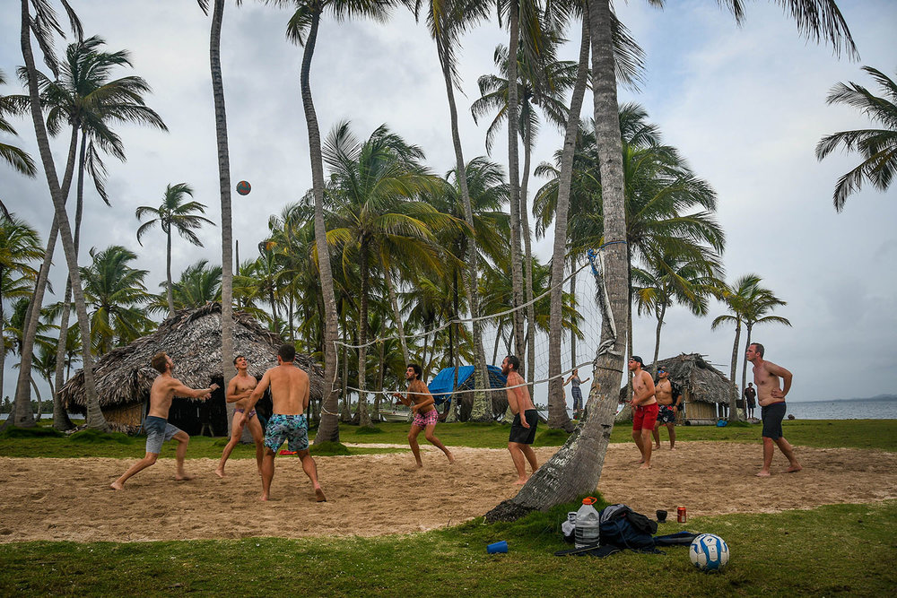 San Blas Islands Panama to Colombia Sand Volleyball