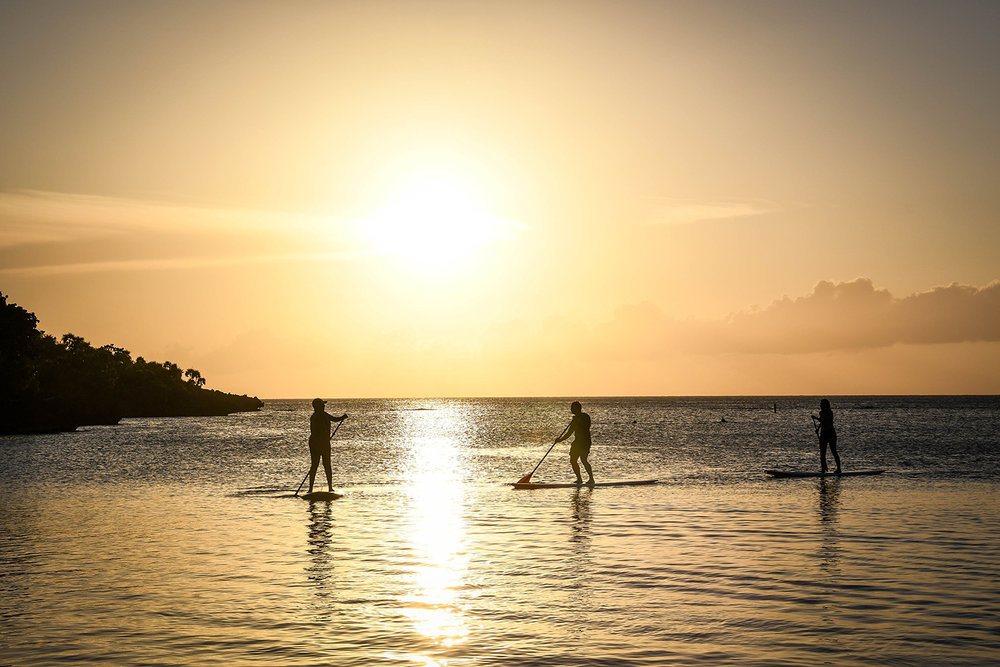 Roatan vs. Utila Honduras Bay Island Stand Up Paddle board