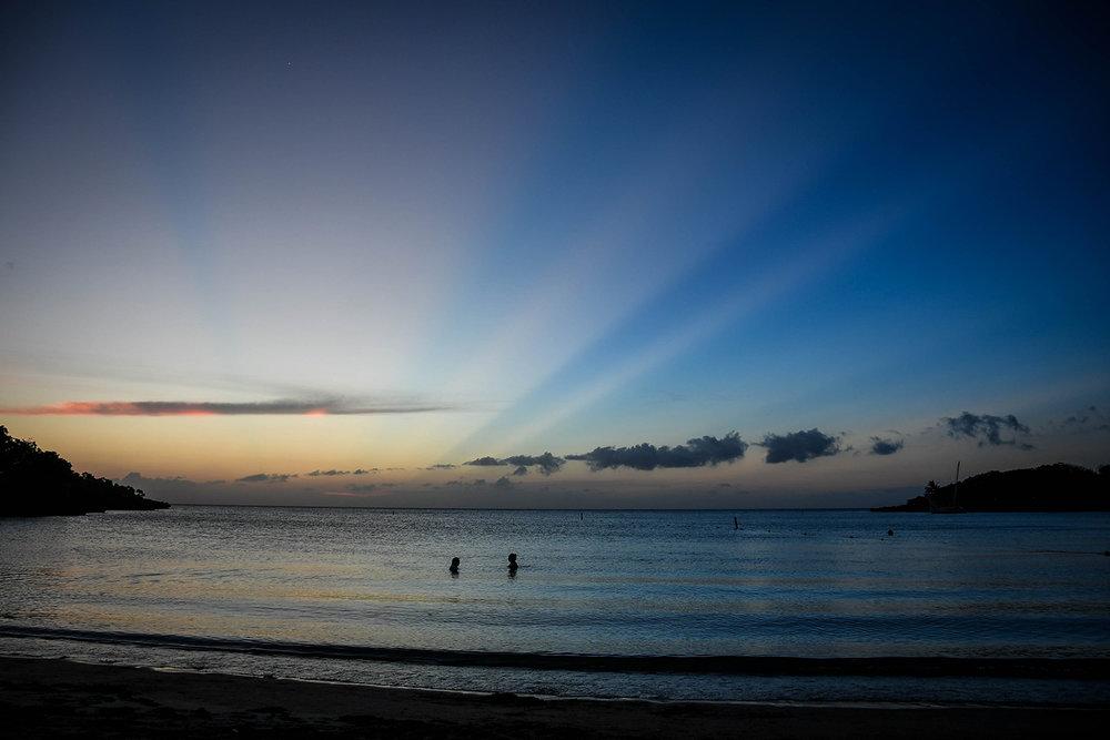 Roatan vs. Utila Honduras Bay Island Sunset