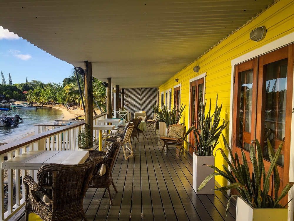 Roatan vs. Utila Honduras Bay Island Beach House Boutique Hotel