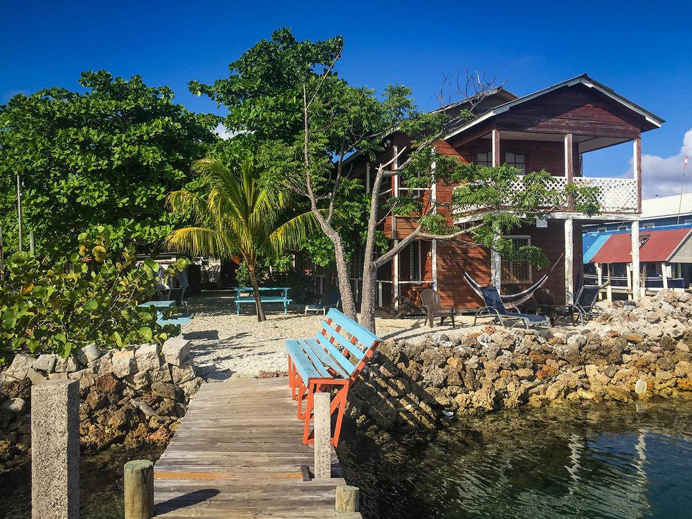 Roatan vs. Utila Honduras Bay Island Ruby's Inn Hotel