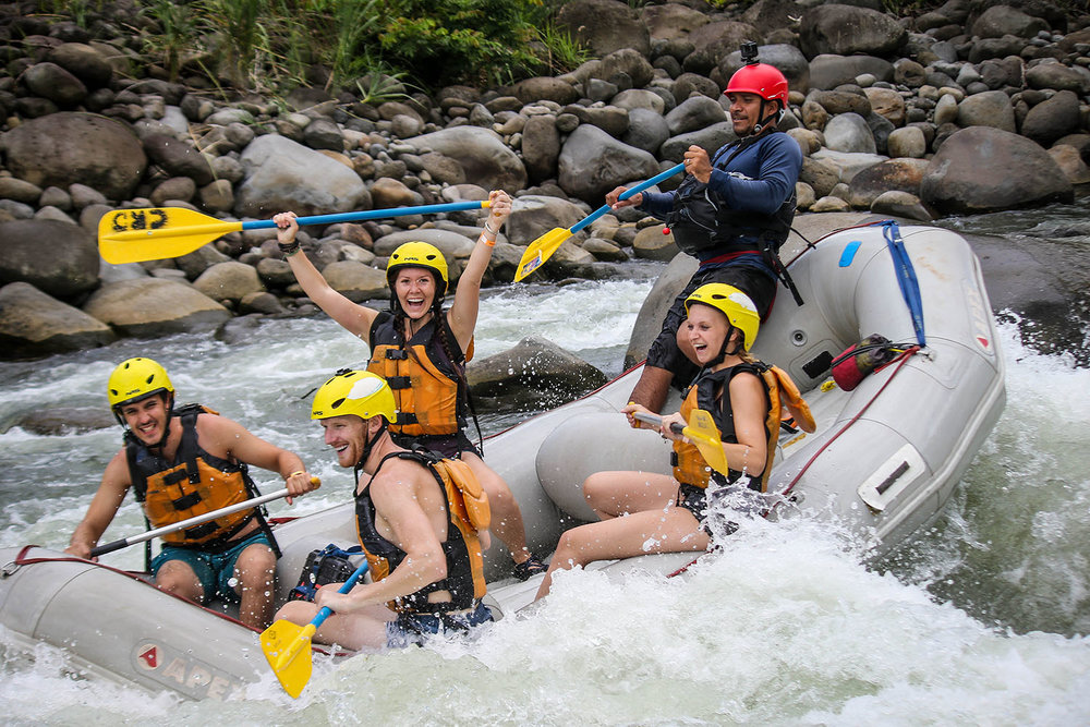 Things to do in Arenal Costa Rica White Water Rafting