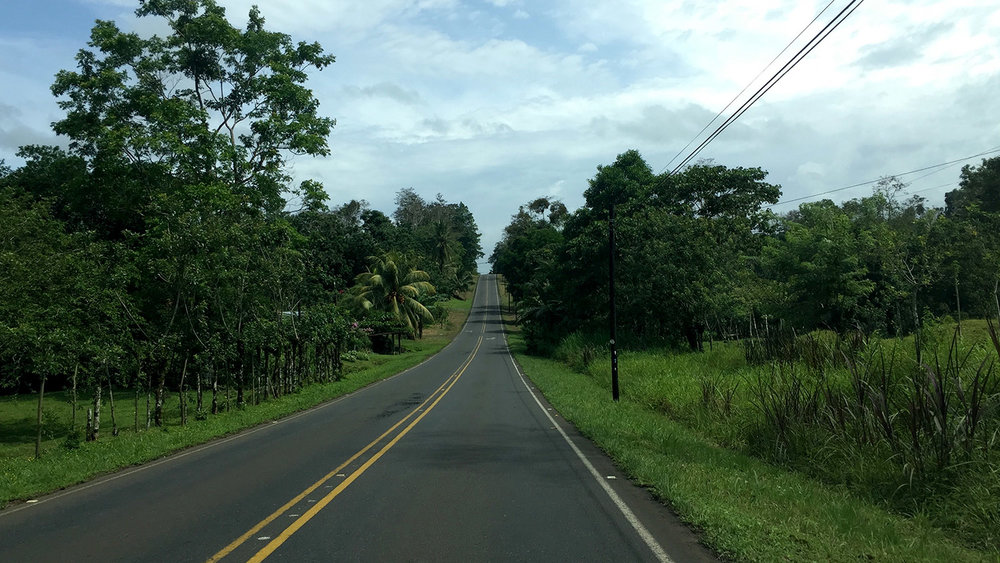 Things to Do in Arenal Costa Rica Driving on a Highway