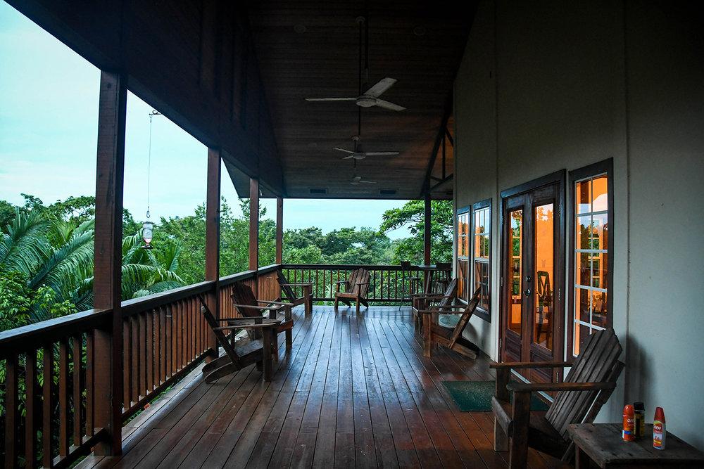 Bocas Del Toro Tranquilo Bay Lodge Main Lodge